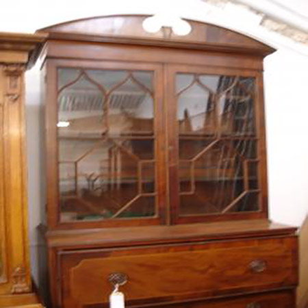 george iii secretaire bookcase fgb antiques. Black Bedroom Furniture Sets. Home Design Ideas