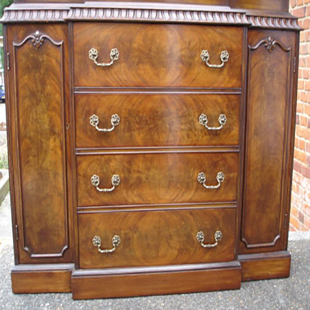 George Iii Mahogany Chest Of Small Proportions Fgb Antiques