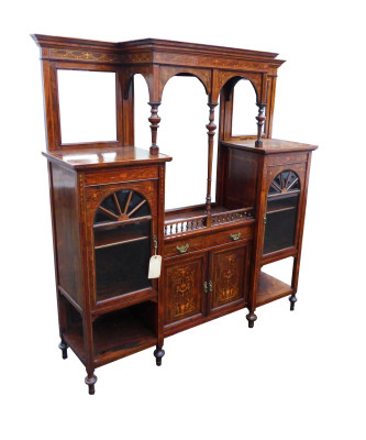 172 A Rosewood Inlaid Cabinet  IXX