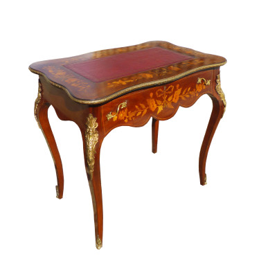 658 S24 Marqeutry Inlaid Writing Desk DXX