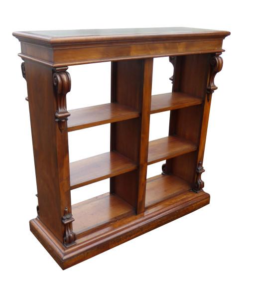 217 Victorian Mahogany Partners Bookcase NXX
