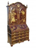 236 A 18th Century Chinoiserie Bureau Bookcase ENXX