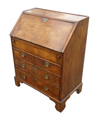 245 A Antique Walnut Bureau DXX