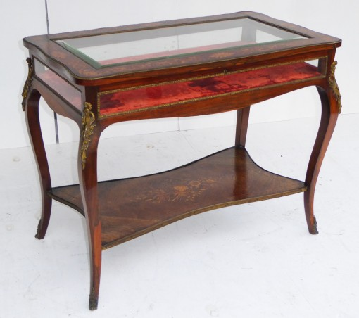 336 A Victorian Inlaid Bijouterie Table SNX