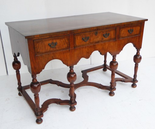 339 339 A William and Mary Style Walnut Sideboard DNX