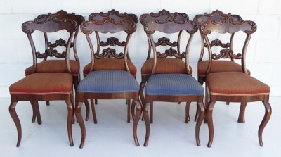 414 A Set of 8 19th Century Dining Chairs CEVX