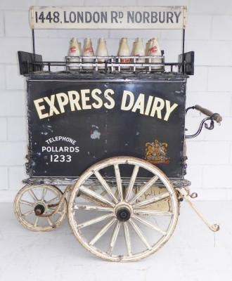 428 A Edwardian Milk Cart INX