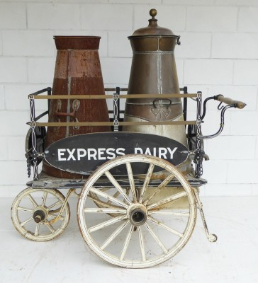 429 A Edwardian Milk Cart INX