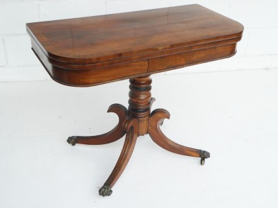 432 A Regency Card Table VCX