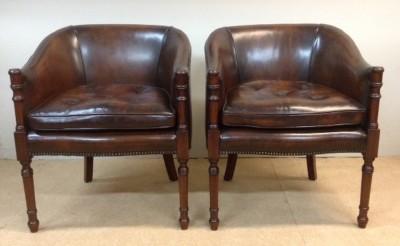 546 A Pair of Davenport Chairs CVNX