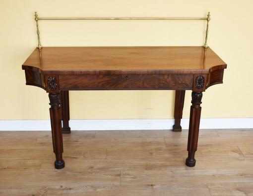 590 A Regency Mahogany Serving Table DDN