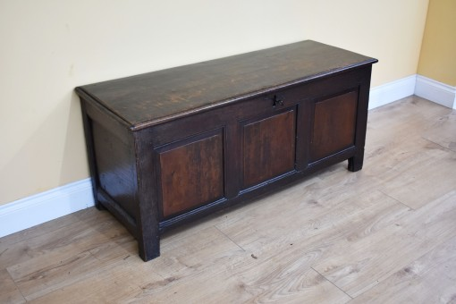 603 A 18th Century Oak Coffer CXX