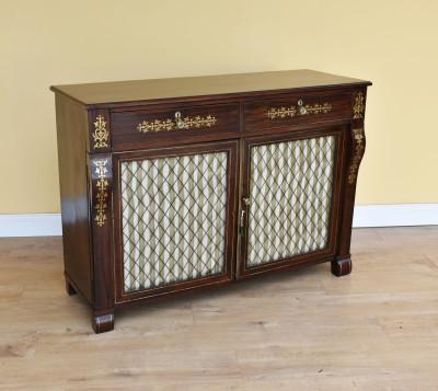 629 A Regency Rosewood Side Cabinet EAN
