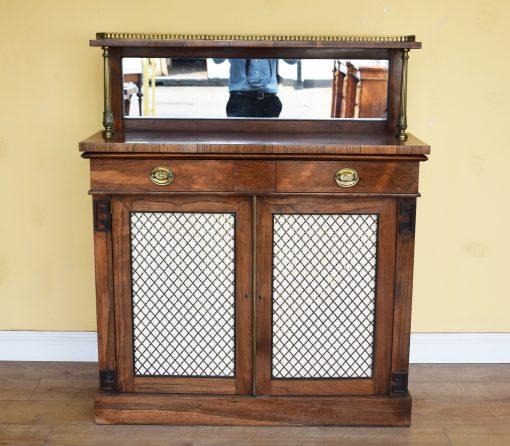 45 A Regency Rosewood Chiffonier IXX