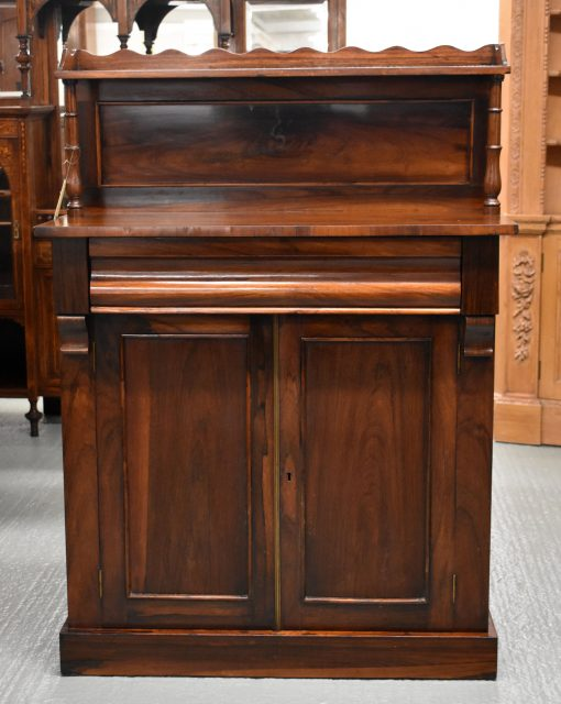 149 A Early Victorian Rosewood Chiffonier DNX